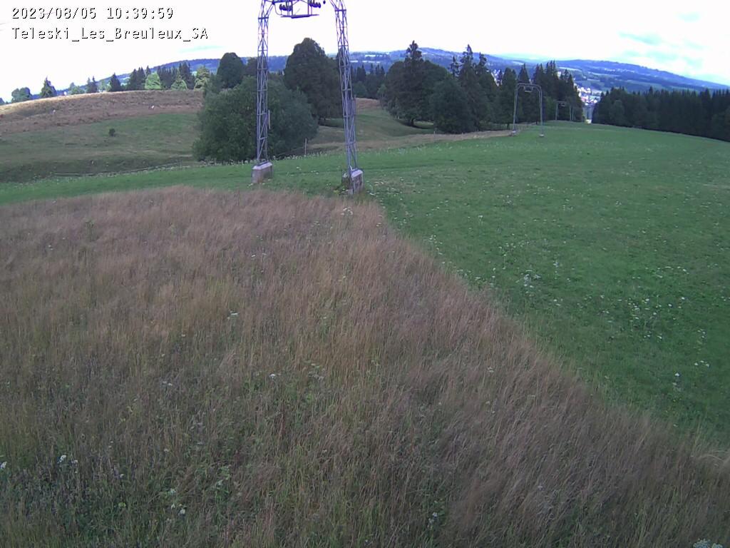 Webcam Les Breuleux - Alt. 1'240 m.